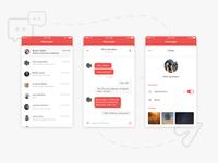 Messenger & chat design