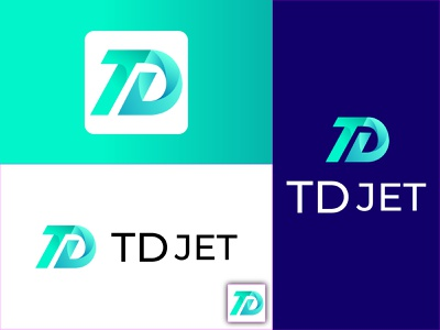td abstract letter logo td logo td abstract logo td 3d logo vector animation motion graphics graphic design logo illustration design business card brochure branding banner abstract logo 3d