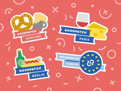 GP Europe – Sticker Set illustration sticker