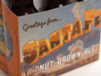 Santa Fe Brewing Co. redesign