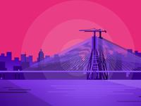 Cities#1 - Worli Sea Link, Mumbai