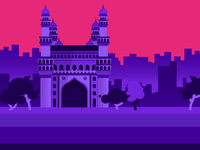 Cities#2 - Charminar, Hyderabad