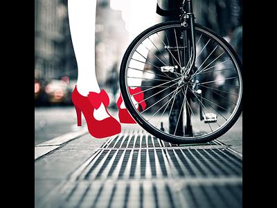 On The Streets - PhotoIllustration fashion vector illustration photoillustration
