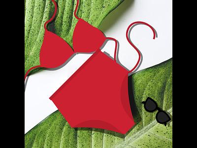 On The Beaches - Photoillustration vector photoillustration illustration fashion
