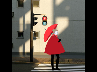 At The Crossroads - Photoillustration vector photoillustration illustration fashion