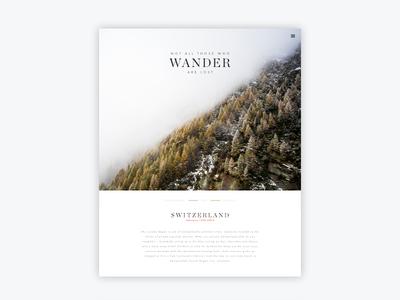 Seven Wanders Blog