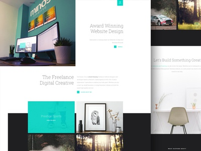 Minos Creative website