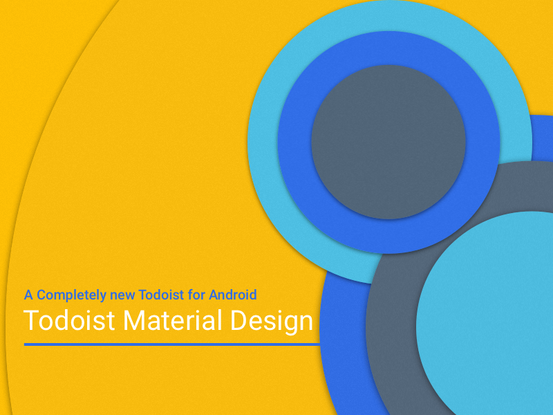 Todoist Material Design: Coming Soon material android todoist