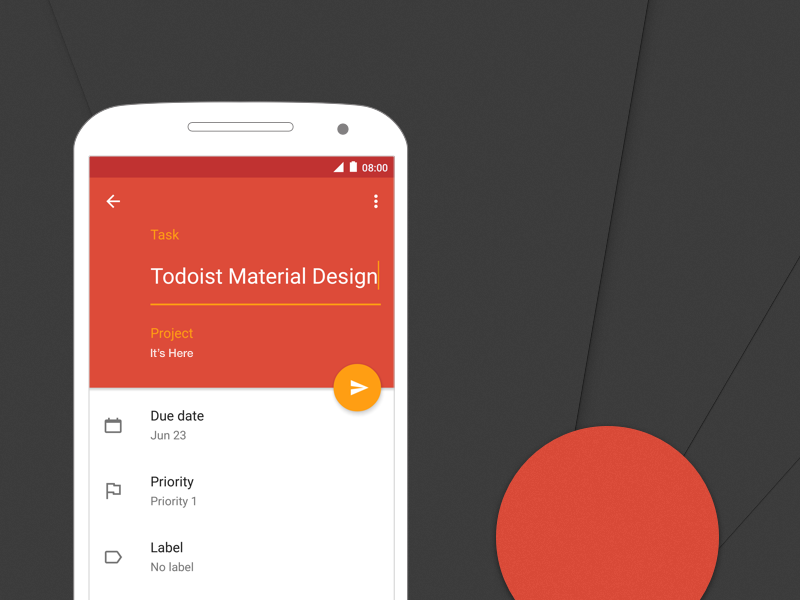 Todoist Material Design material android todoist