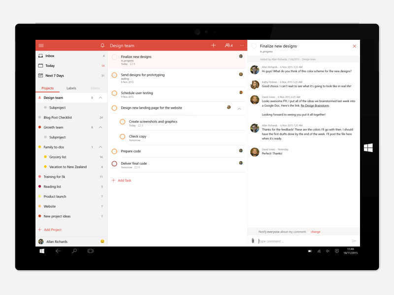 Todoist For Windows Preview windows todoist