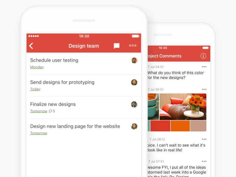 Todoist Project Comments comments projects todoist