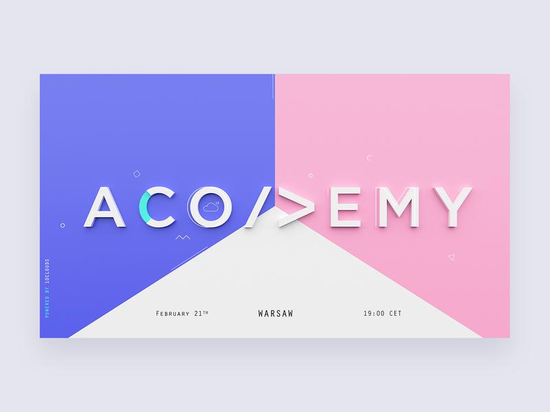 Acodemy - Blockchain edition 💥 blockchain 10clouds colors meetup acodemy