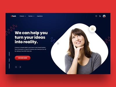 Digital Marketing Web ux ui ux branding design furniture app website design ui design landing page design on page one page seo marketing web design