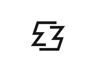 Z lines z letter mark symbol logo illustration vector exploration icon