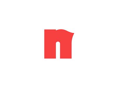 N n letter mark symbol icon logo branding vector pixel illustration exploration