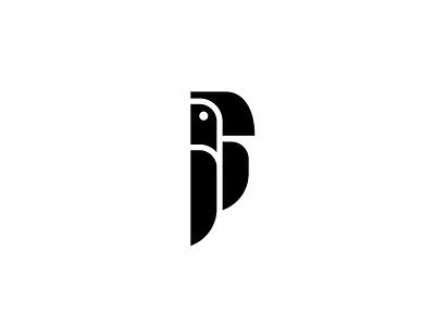 Parrot parrot nature animal bird logo mark symbol icon illustration exploration branding vector