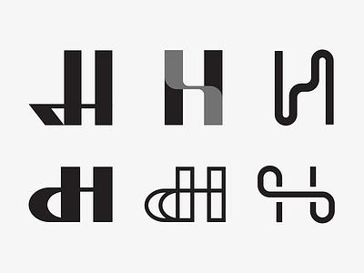 H h letter mark symbol icon logo branding vector pixel illustration exploration