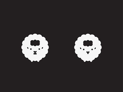 Sheep farm nature animal sheep logo mark symbol icon illustration exploration branding vector
