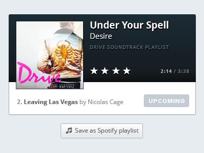Playlist Player music player ui user interface playlist audio
