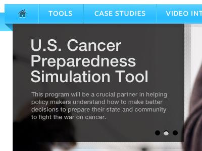 Navigation and Slider cancer navigation nivo slider tool