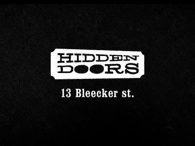 Bar Logo logo black white school project bar bleecker beer