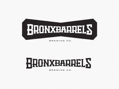 Bronx Barrels Logo bronx beer brewery logo woodshop barrels