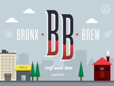 Bronx brew packaging