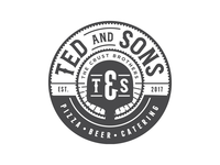 Ted & Sons Logo Concept