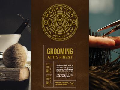 Manhattan Men's Grooming Lounge Website