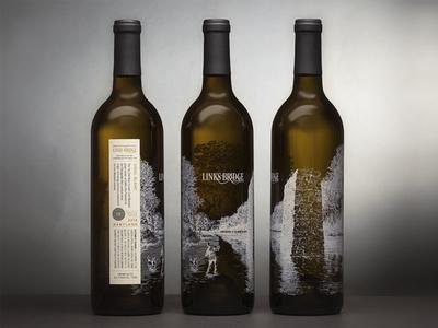 Links Bridge Wine Packaging and Label Design