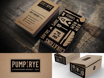 Pumpernickel + Rye Branding