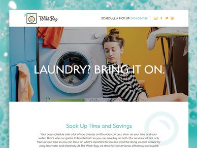 The Wash Bag Website