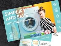 The Wash Bag Postcard