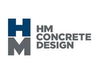 HM Concrete Design Logo Concept 2