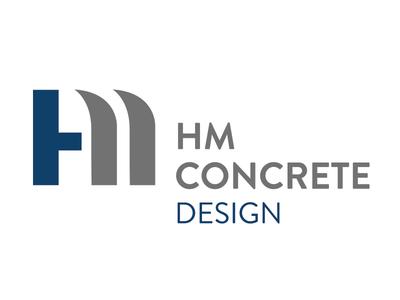 HM Concrete Design Logo Concept 3