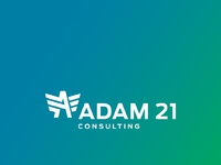 Adam 21 logo social post