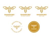 Banner bee dribbble 3