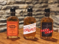 Rebellious Whiskey Labels