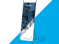 Frederick chamber banner display dribbble