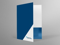 Frederick chamber pocket folder dribbble