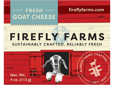 Fresh Goat Cheese Label