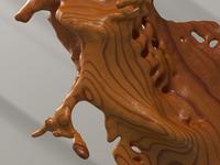 3d Wood Sculpt