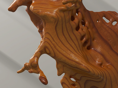 3d Wood Sculpt piacentino graphicdesign sculpt wood digitalart design art render 3d
