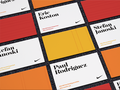 Nike skateboard business cards by jeremy sanford dribbble nike skateboard business cards colourmoves