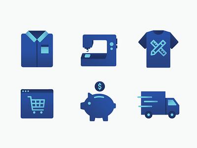 I'm blue da ba dee truck pig vector blue tshirt illustration iconography icons