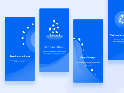 Cowrywise App Onboarding Illustrations