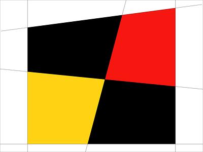 Mondrian Art #0569877 bauhaus generative art