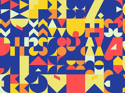 Geometric Art #1 pattern shapes design geometric generative art