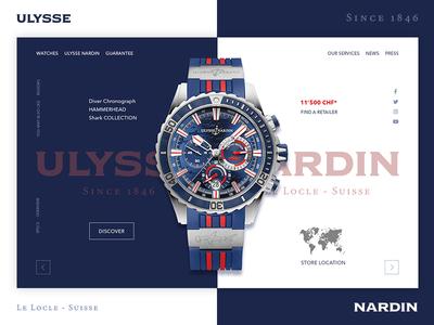 Redesign concept Ulisse Nardin