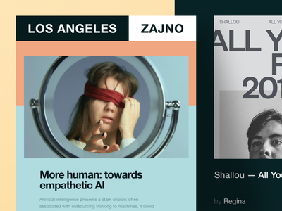 Zajno Newsletter #4: Humans On Fire email artificial intelligence people humans communication humanity community ai empathy inspiration zajno ui ux technology share newsletter music digital brand art design agency